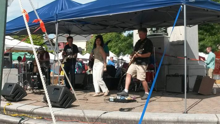 Band at Great American Weekend Goshen NY