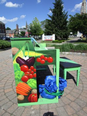 Farmers' Market Piano in Goshen NY