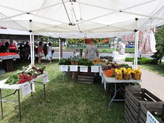 Farmers' Market Tent in Goshen NY