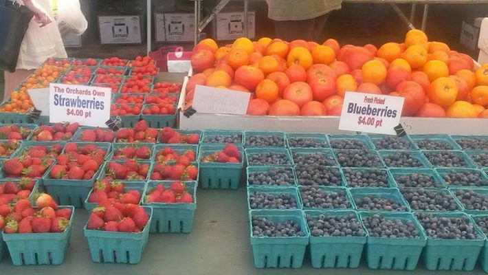 Farmers' Market Fruit in Goshen NY