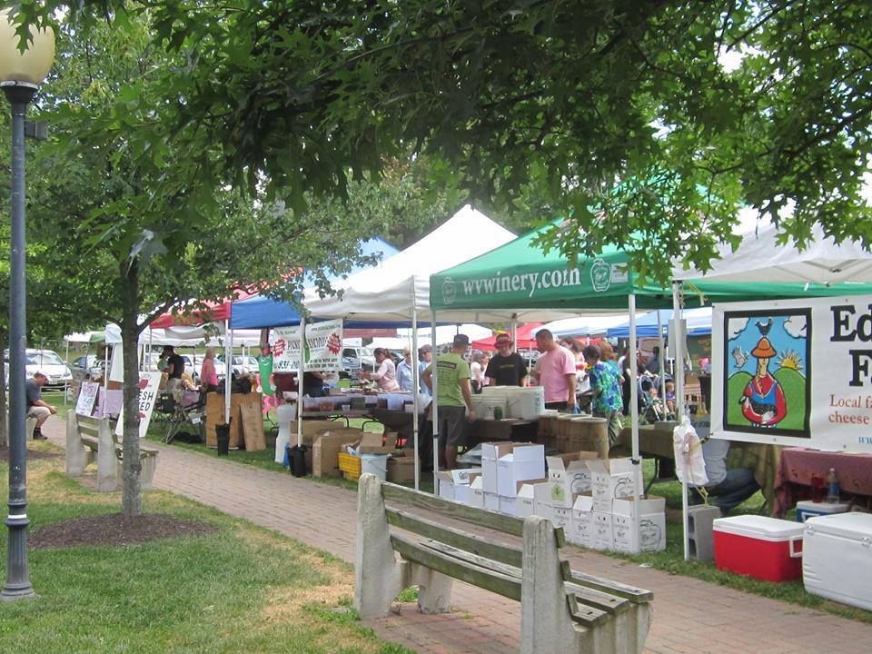 vendors at goshen farmers market