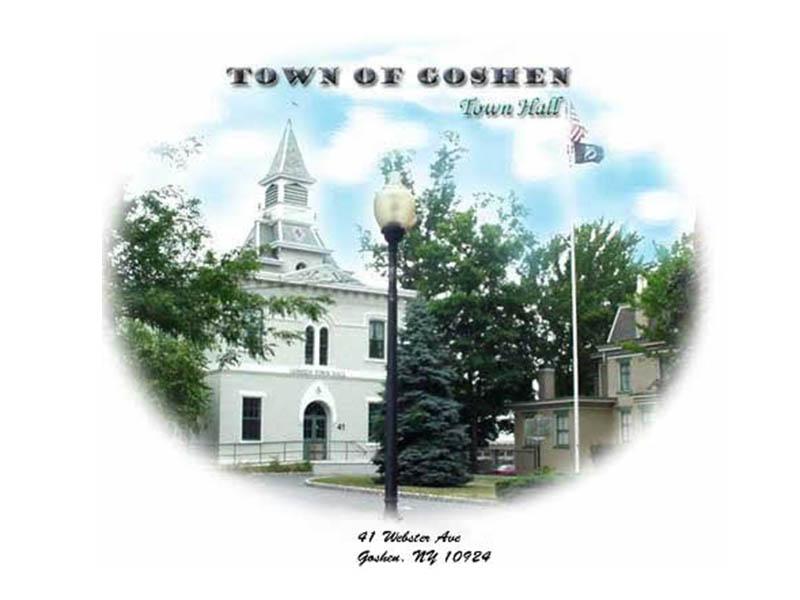 Town of Goshen logo for being a gold sponsor