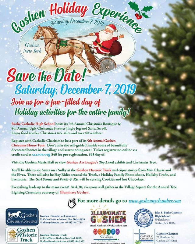 Goshen Holiday Experience flier