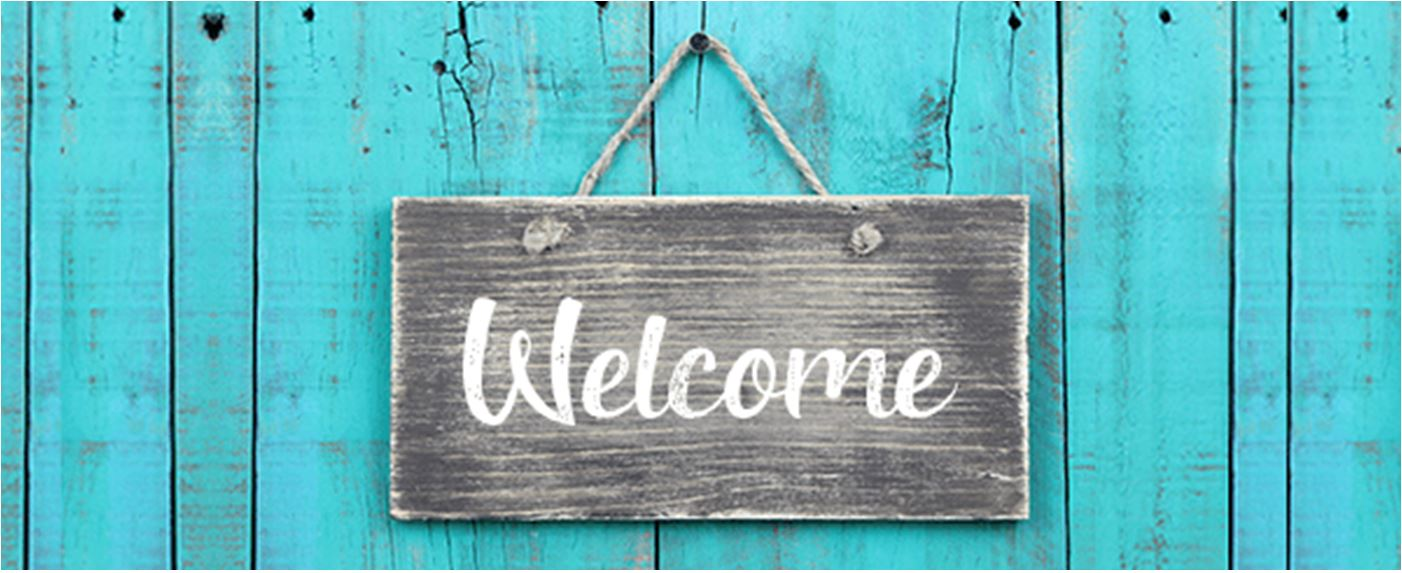 Welcome Sign Goshen