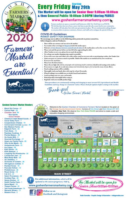 Goshen Farmers Market 2020